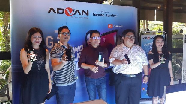 Advan G3 Meluncur, Speaker Harman Kardon Jadi Andalan