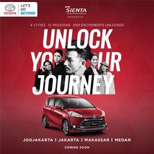 Rio Dewanto Vs Kevin Hendrawan di Sienta Unlock Your Journey
