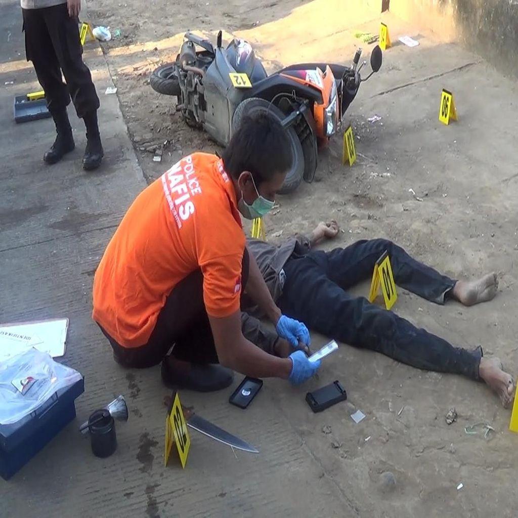 Ini Penampakan Kapten Begal Sadis Ditembak Mati di Makassar