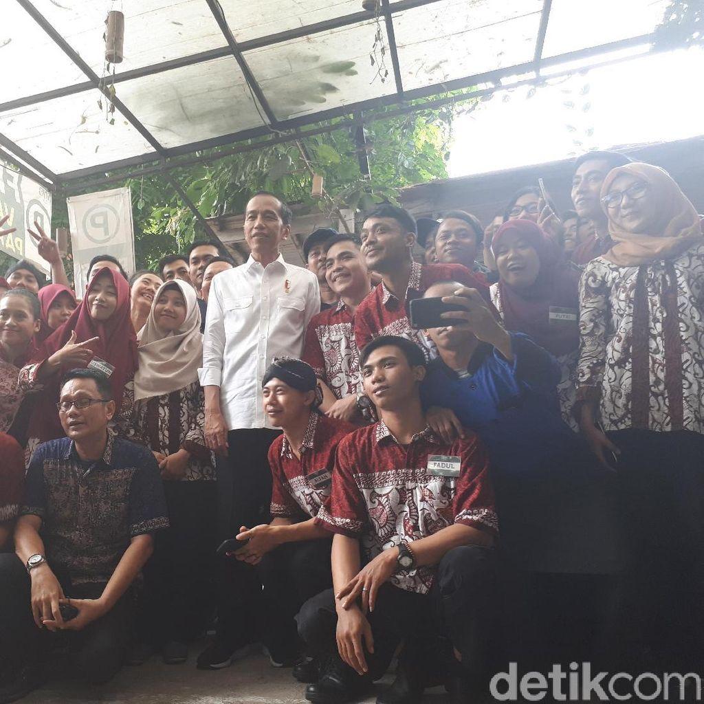 Jokowi: Nomor 1 atau 2 Alhamdulillah, Syukuri Saja