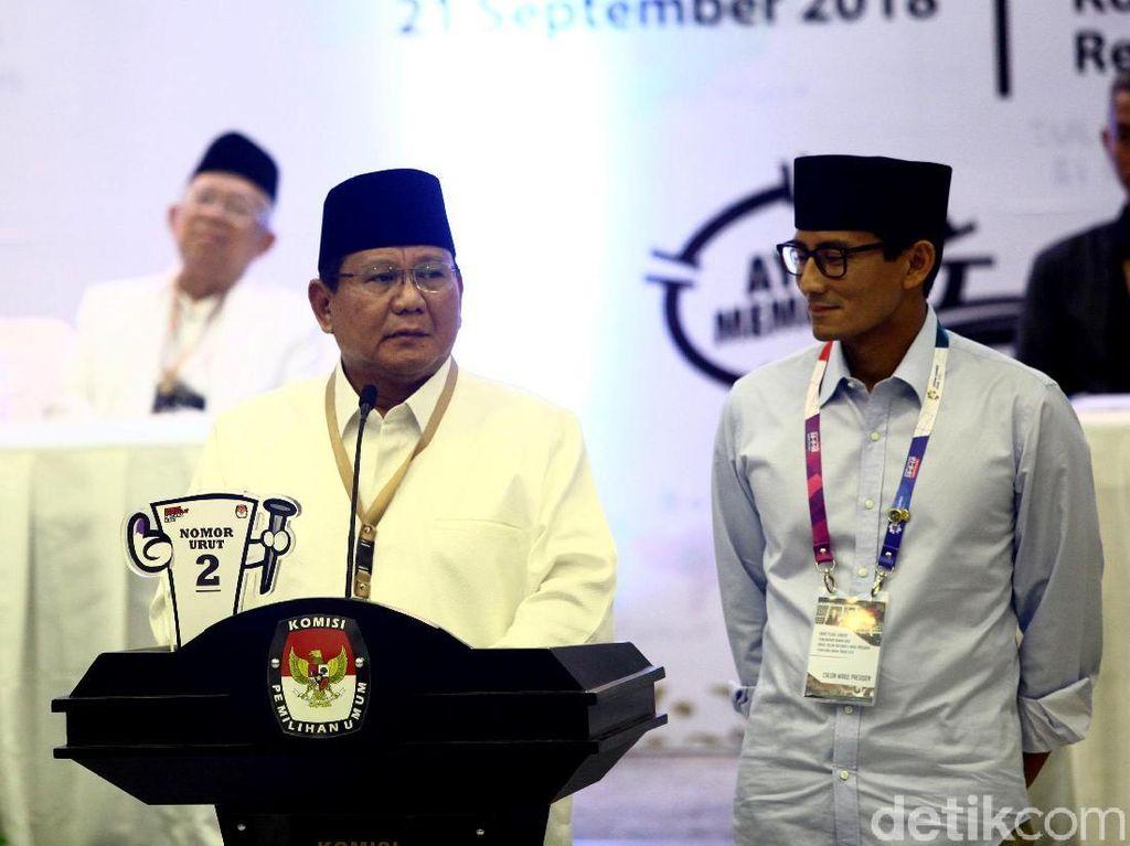 Prabowo: Nomor 02 Lambang Kemenangan