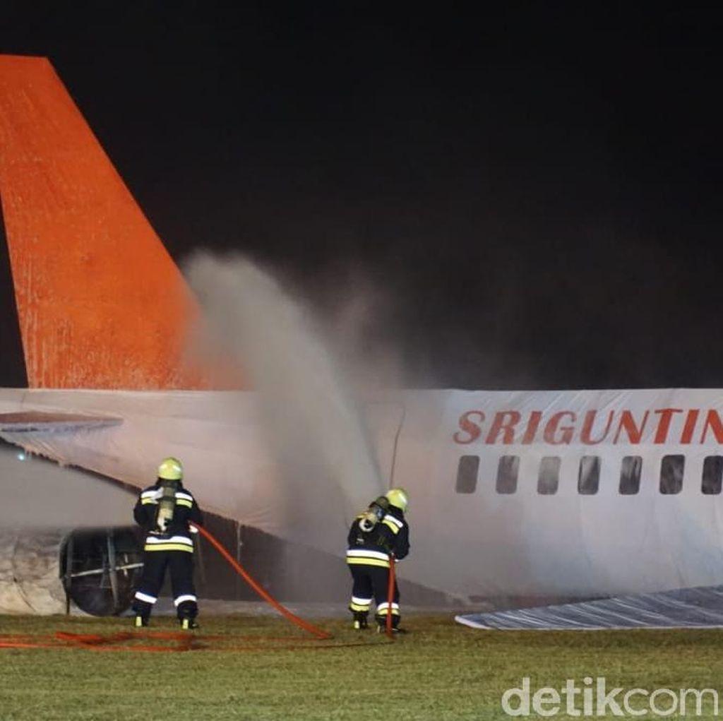 Bandara Semarang Gelar Simulasi Darurat hingga Tengah Malam Tadi