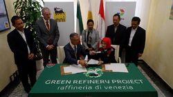 RI Gandeng Italia Bangun Kilang Ramah Lingkungan