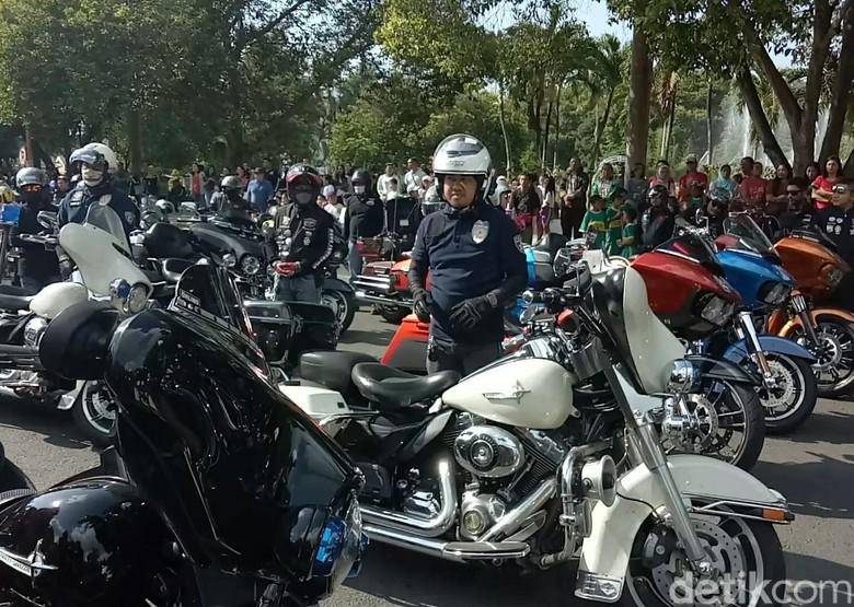 Ilustrasi Motor besar/Harley-Davidson Foto: dok. Ardian Fanani