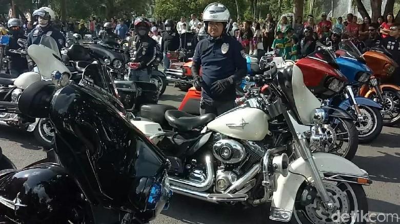 Komunitas Harley-Davidson Foto: dok. Ardian Fanani