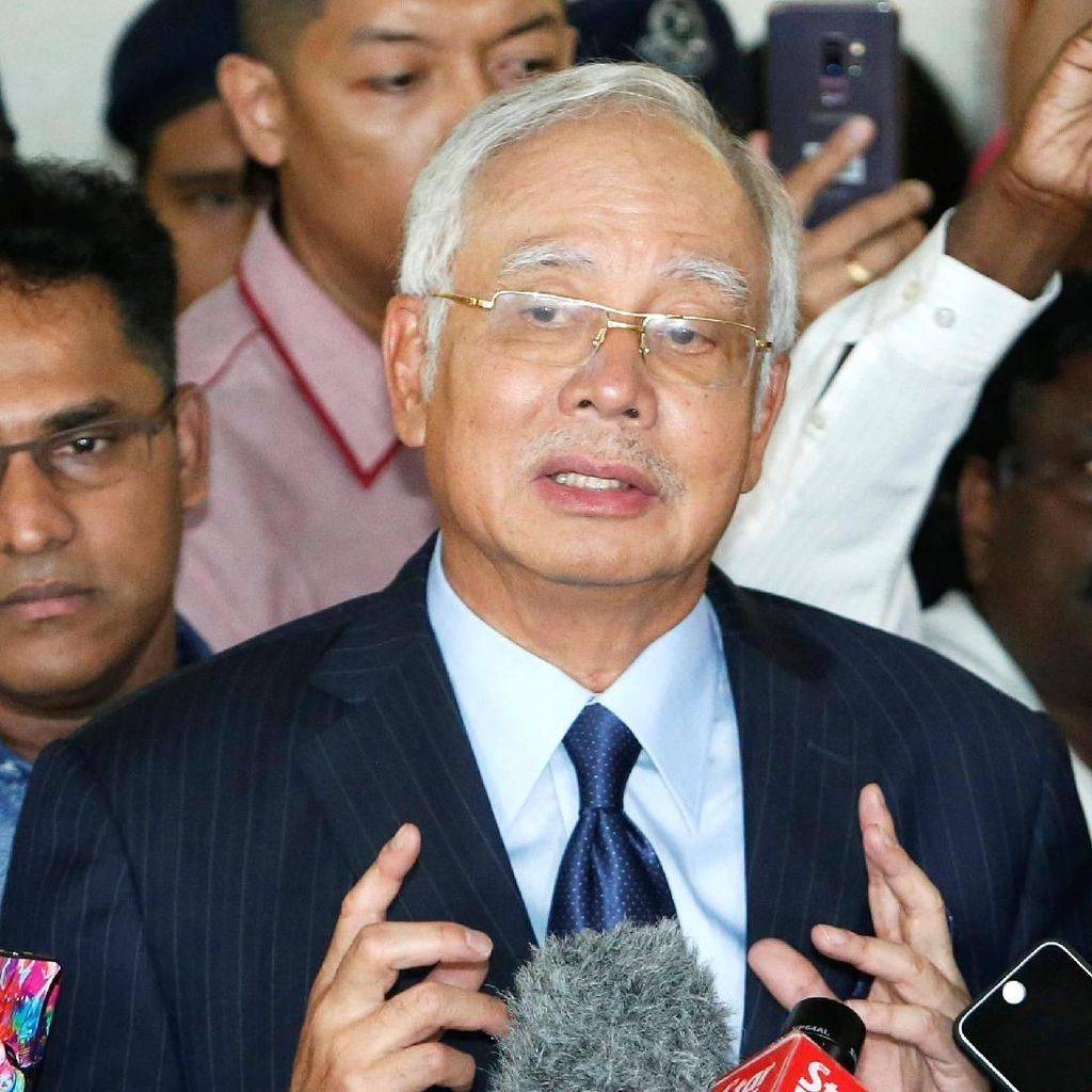Cerita Pilu Najib Razak Ditangkap di Ultah Istri