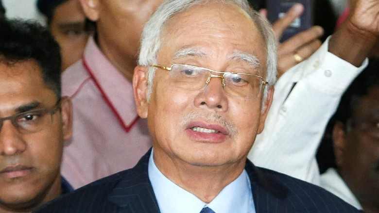 Sidang Perdana Najib Razak Ditunda Hingga Waktu yang Tak Ditentukan