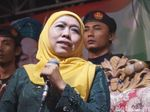 Khofifah Janji Suara Muslimat NU ke Jokowi-Maruf