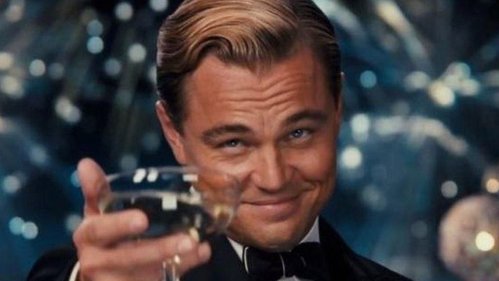 Bertabur Bintang, Ultah ke-44 Leonardo DiCaprio Bak The Great Gatsby