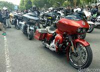 Komunitas Harley-Davidson buat sesak Banyuwangi