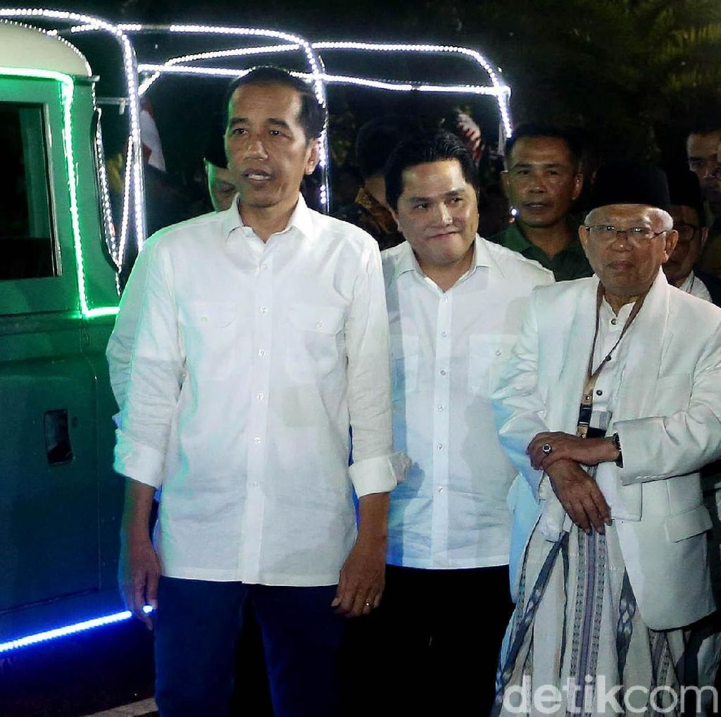 Timses: Jokowi-Maruf Usung Slogan Indonesia Maju