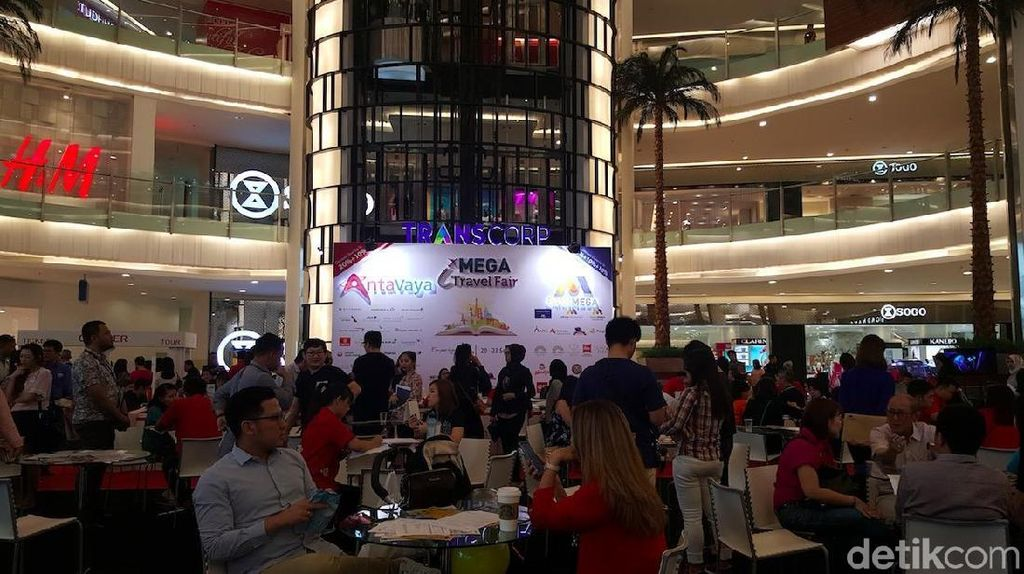 Mega Travel Fair Pluit Bertabur Promo Liburan