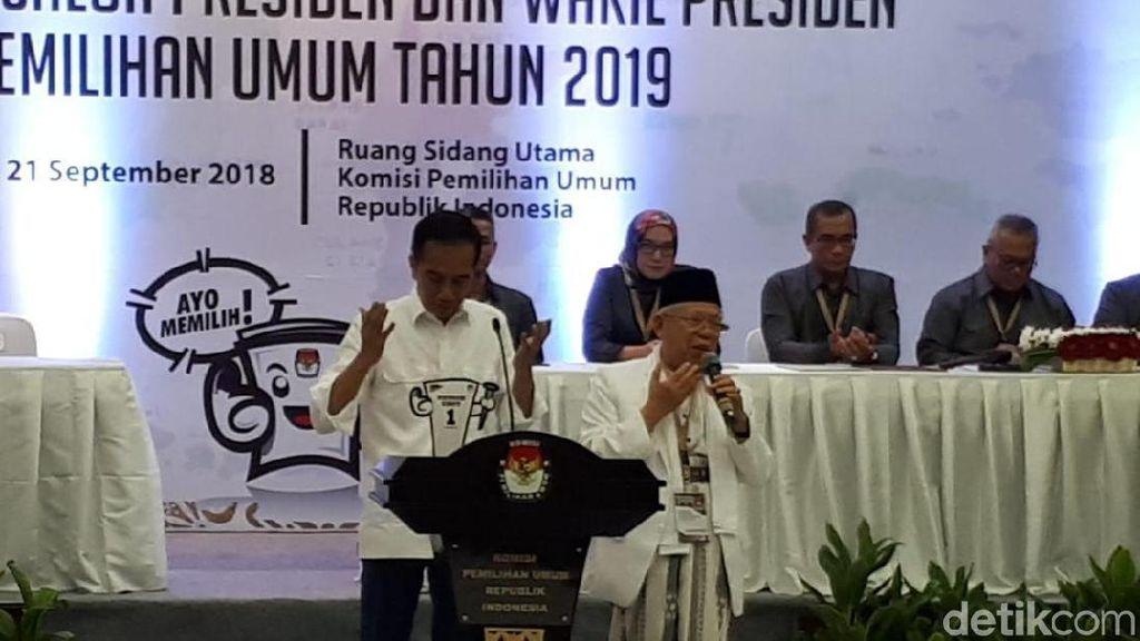 Jokowi: Prabowo dan Sandiaga Sahabat Saya Sejak Lama