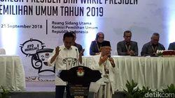 Serunya Jokowi-Maruf Amin Ambil Nomor Urut, dari Proklamasi ke KPU