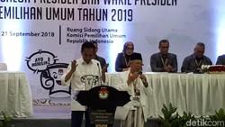 Dapat Nomor 1, Jokowi: Memang yang Diperebutkan RI 1