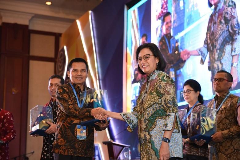 WTP Lima Kali Berturut-turut, MPR Raih Penghargaan dari Menkeu