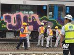 Polisi Kantongi Ciri-ciri Pelaku Vandalisme MRT di Lebak Bulus