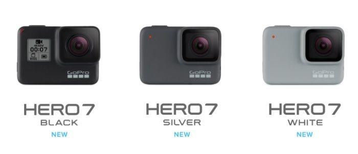 GoPro merilis tiga kamera anyar (Foto: Istimewa)