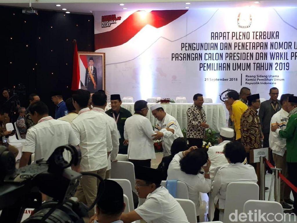 Hanya Semenit Prabowo dan Jokowi Sepakat Tambah 0 di Nomor Urut