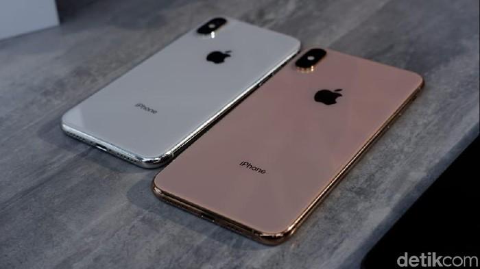 iPhone XS disebut kalah laris ketimbang XS Max yang lebih mahal (Foto: detikINET/Adi Fida Rahman)