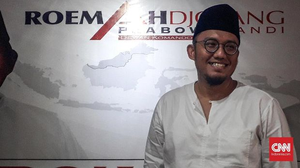 Ketum PP Pemuda Muhammadiyah Dahnil Anzar Simanjuntak.