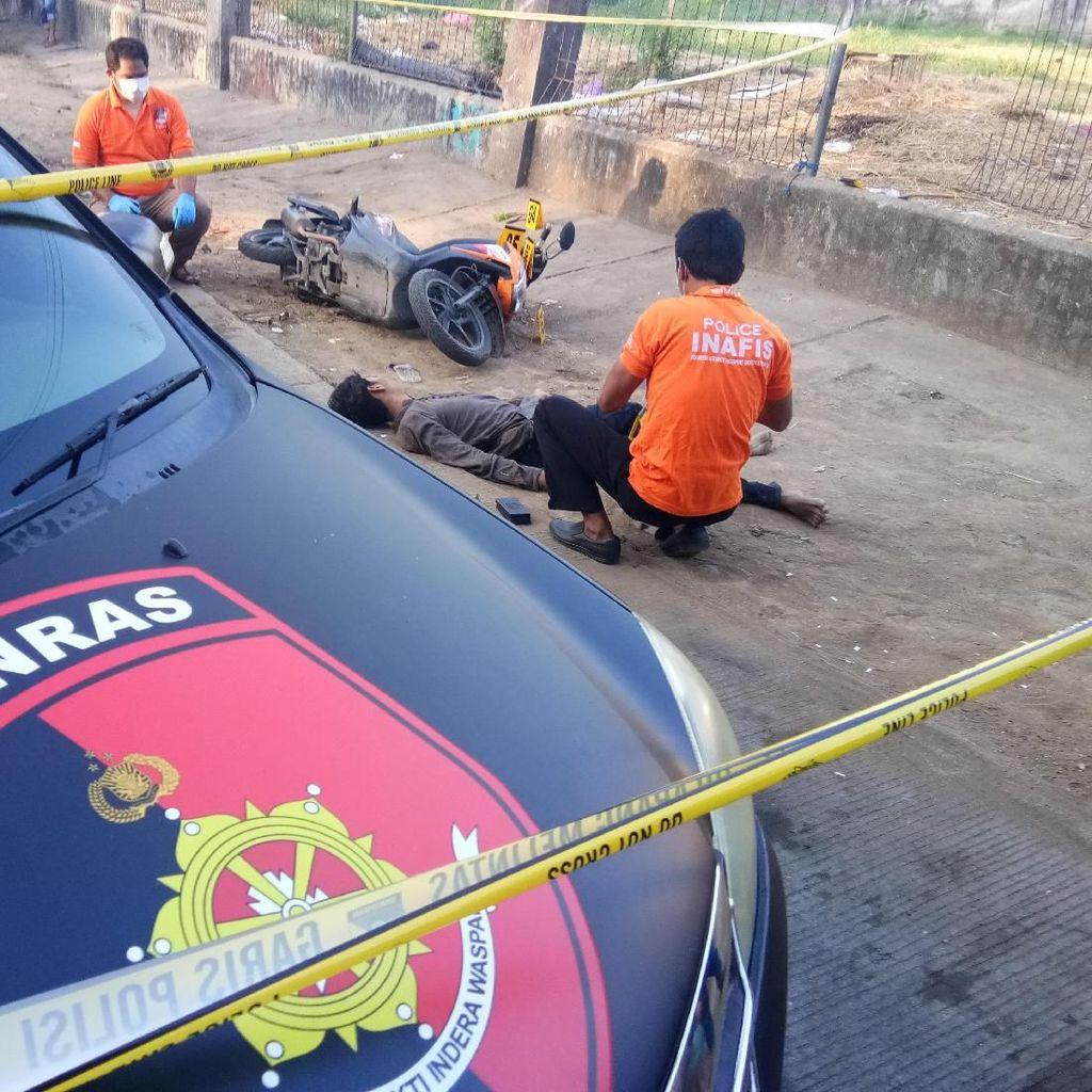 Dor! Kapten Begal Sadis di Makassar Tersungkur Ditembak Mati