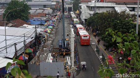Jalan Jatibaru, Tanah Abang Bebas PKL