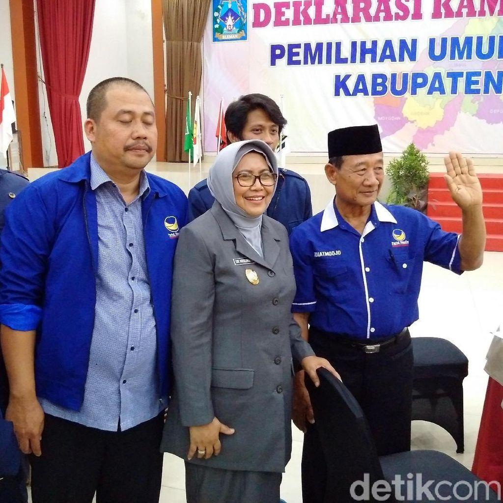 Wabup Sleman Belum Putuskan Jurkam Jokowi, Nasdem Bicara Sanksi