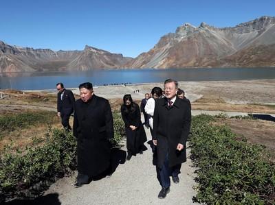 Inilah Danau Surga, Tempat Pertemuan Pemimpin Korut dan Korsel