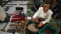 Begini Ritual Cuci Benda Pusaka Keraton Kaprabonan Cirebon