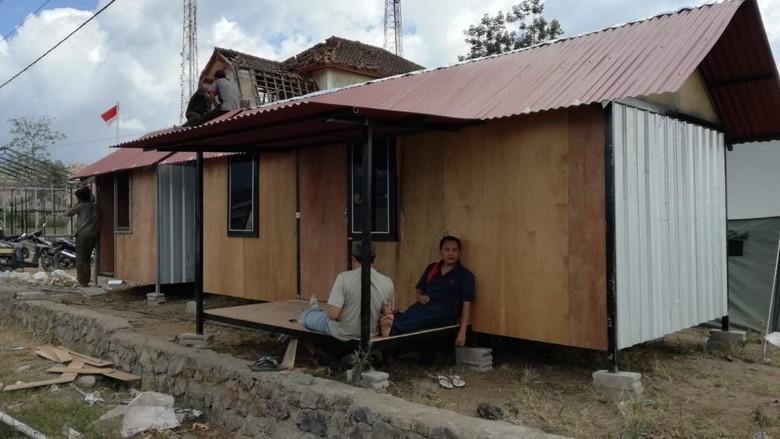 Galang Dana, DPR Targetkan 1.000 Unit Hunian bagi Pengungsi Gempa