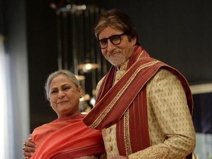 Amitabh Bachchan dan Jaya Baduri.Foto: Instagram
