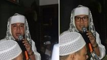 Foto Habib Sandiaga Editan, Aslinya Wajah Habib Bahar bin Smith
