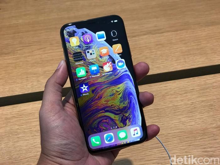 iPhone XS yang sudah bisa dibeli di Singapura  (Foto: detikINET/Adi Fida Rahman)