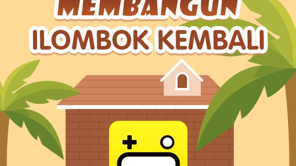Bisa Lho Main Game Online Sambil Bantu Korban Gempa Lombok