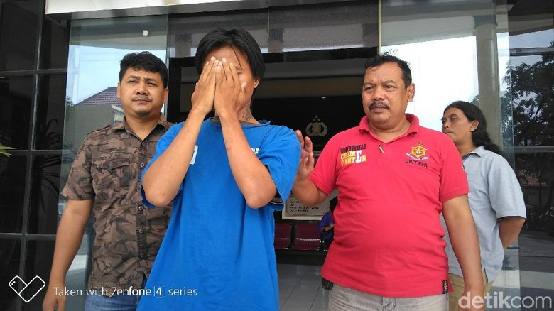 Polisi Amankan Seorang Begal Pantat, Korbannya Ibu-ibu di Pasar