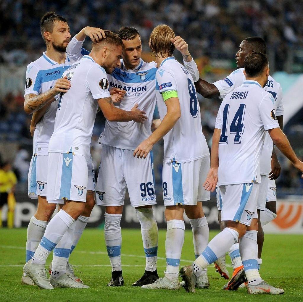 Hasil Liga Europa: Lazio Menang Tipis atas Apollon
