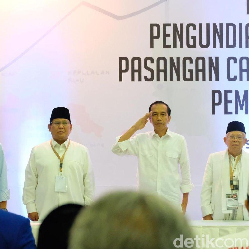Jokowi Kampanye di Pekanbaru, Prabowo Agenda Internal di Hambalang
