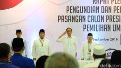 Para Syndcate: Elektabilitas Jokowi-Maruf Turun, Prabowo-Sandi Naik