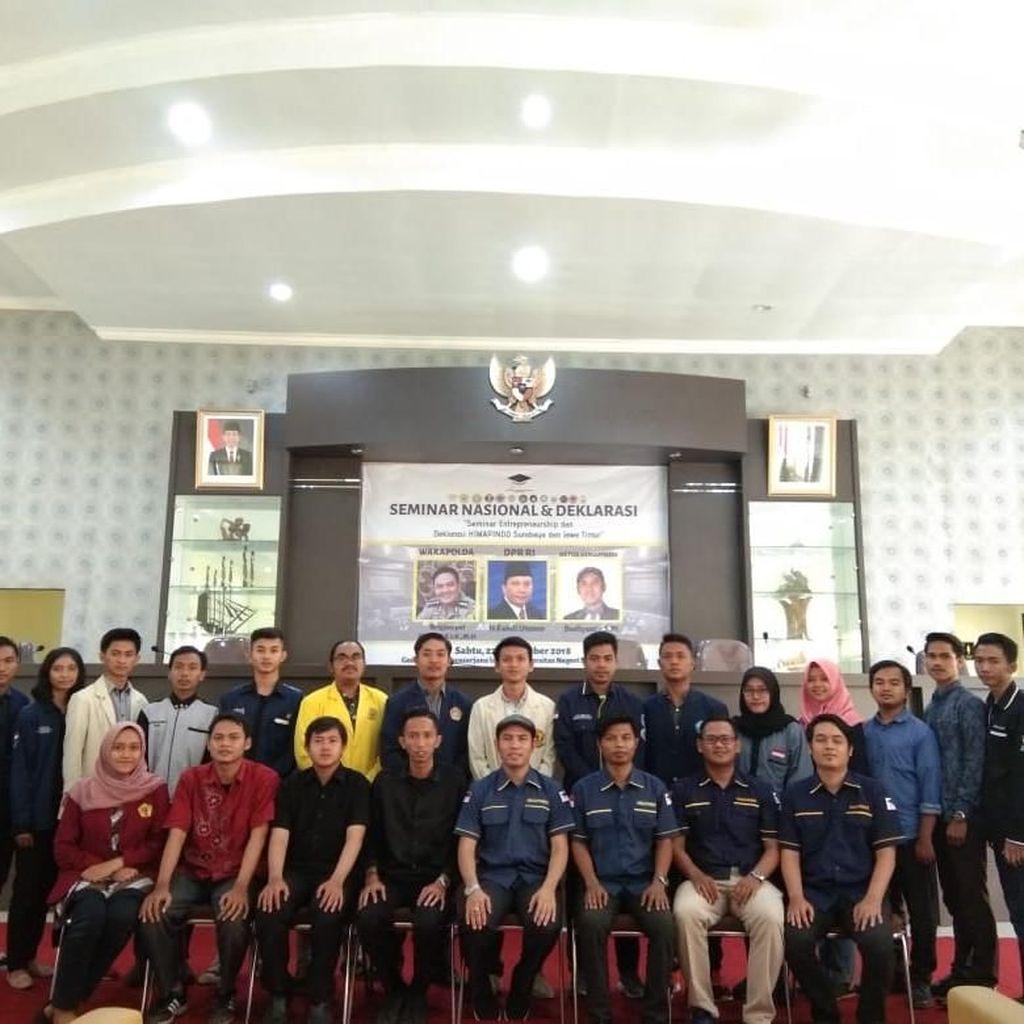 Himapindo Cetak Mahasiswa Pengusaha untuk Indonesia Emas 2045