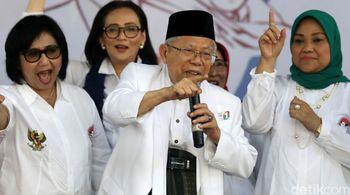 Ma'ruf Amin Terima Dukungan dari Perempuan Indonesia