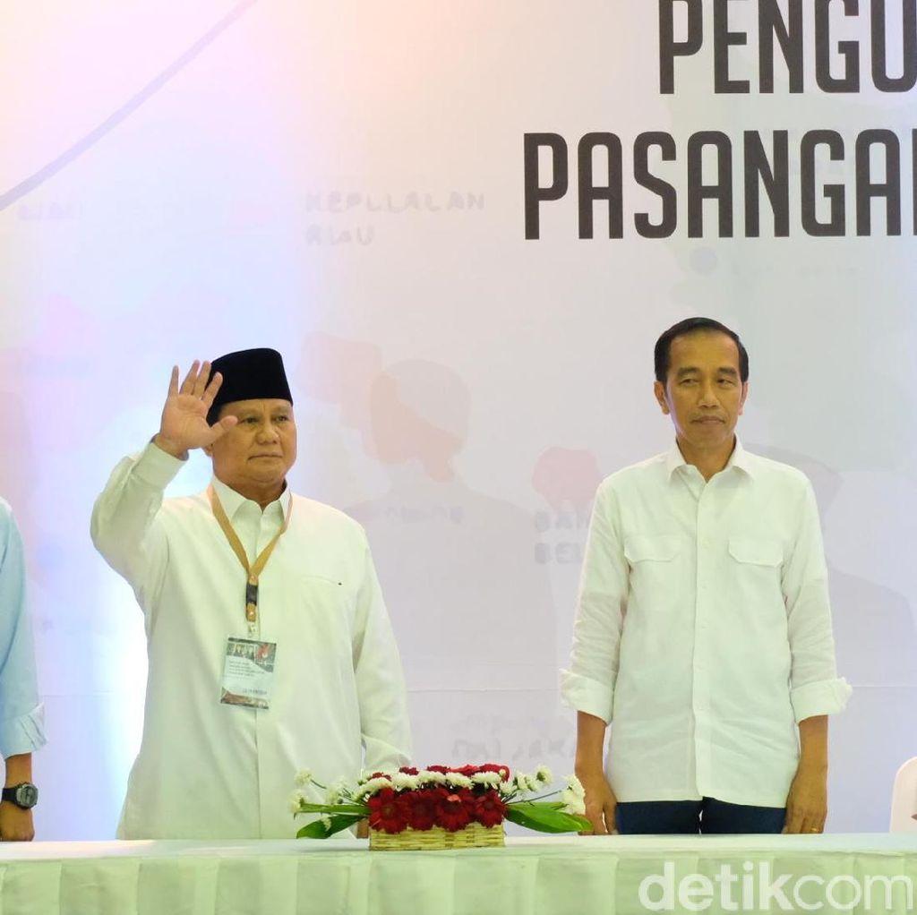 Jokowi Vs Prabowo di Bidang Hukum dan Pemberantasan Korupsi