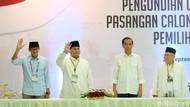 Dana Awal Kampanye: Jokowi-Maruf Rp 11,5 M, Prabowo-Sandi Rp 2 M