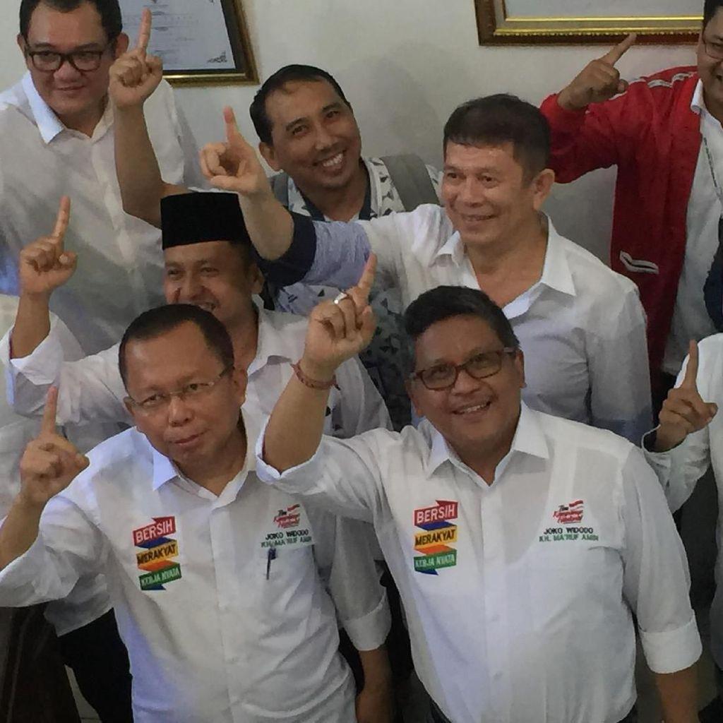 Sekjen Partai Koalisi Jokowi-Maruf Laporkan Dana Kampanye ke KPU