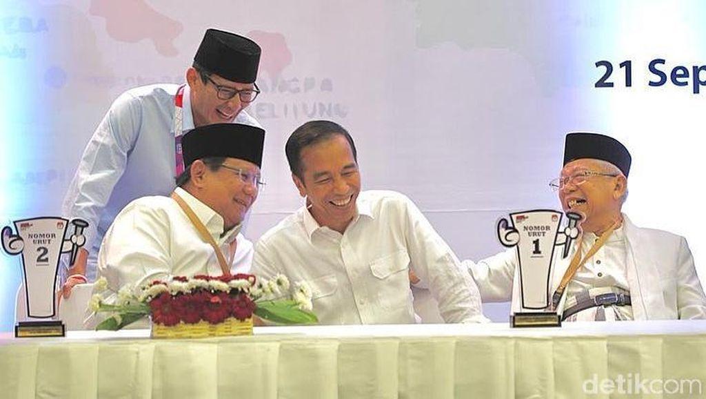 Perang Skor Kubu Jokowi Vs Prabowo Berlanjut