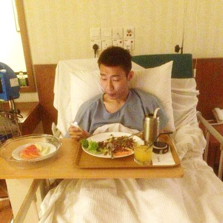 Lee sebelumnya pernah mengalami cedera otot paha yang sempat memaksanya istirahat pada Juli 2014. Lee tak menyerah selama masa penyembuhan sebelum kembali ke arena kejuaraan.(instagram/leechongweiofficial)