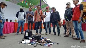 Wartawan Boikot Festival Egrang yang Dihadiri Menteri Yohana