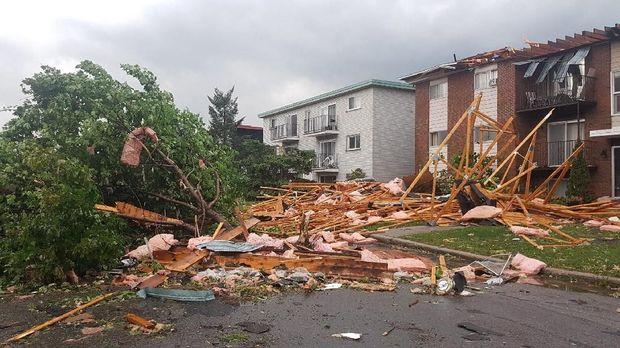 Ibu Kota Kanada Dihantam Tornado 190 Kilometer per Jam