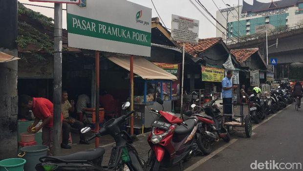 Pasar Pramuka Pojok (Ibad Durohman)