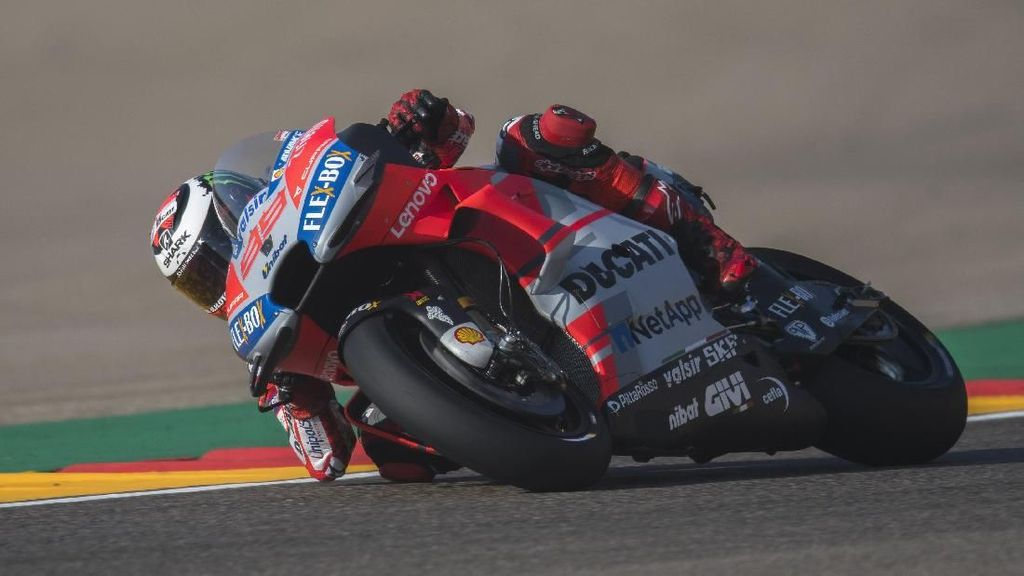 Hasil Kualifikasi MotoGP Aragon: Lorenzo Pole, Rossi Start ke-18